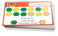 1st grade comparison card games for children in grade 1. PDF printable