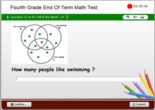 4th Grade Math End of Level Test