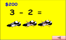 1st grade subtraction with pictures Jeopardy PPT game
