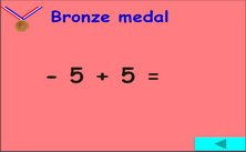 6th grade Numbers PPT game -  Olympic jeopardy PowerPoint math classroom game