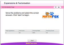 Expansions and factorisation