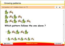 Growing patterns