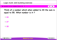 Logic multi skill building exercise