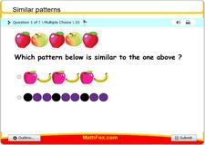 Similar patterns