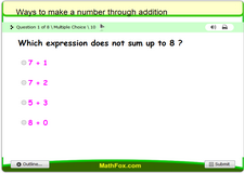 Ways to make a number through addition