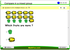 Compare objects in a mixed group
