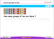 Count groups of ten