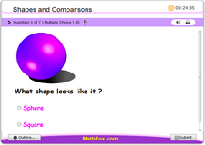 Shapes and comparisons