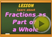 Fractions as Part of Whole video