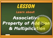 Associative Property Addition Multiplication video