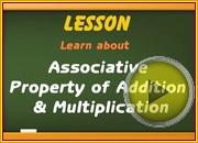 Associative Property Addition Multiplication video