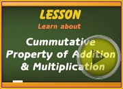 Cummutative Property Addition Multiplication video