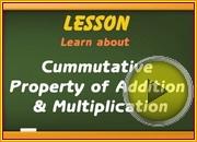 Cummutative Property Addition Multiplication video