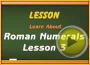Roman Numerals 2 video