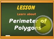Perimeter of Polygons video