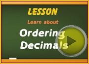 Ordering Decimals video