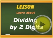 Dividing by 2 Digits video