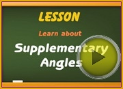 Supplementary Angles video