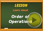 Order of Operations video