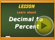 Decimal to Percent video
