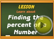 Finding the Percent of a Number video