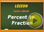 Percent to Fraction video