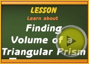 Volume of Triangular Prism video