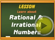 Rational Irrational Numbers video
