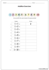 Adding 1 to ther numbers no illustration