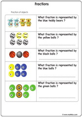 Fractions of objects