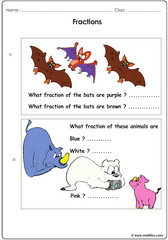Fractions with animals
