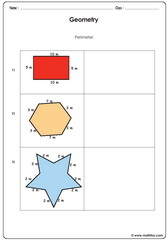 Perimeter of shapes