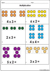 Multiplication with dots