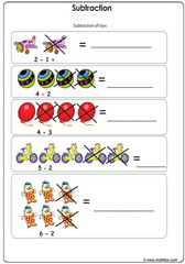 Subtraction illustrated review
