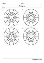 Division circle drill