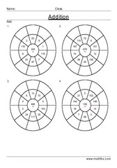 Addition circle drill