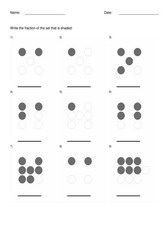 Fractions withdots