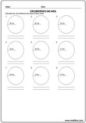 Circumference area