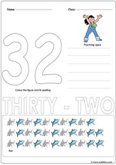 Number 32 Worksheet
