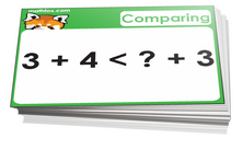 Comparisons and inequalities Card
