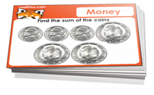 6th grade math money cards - For math cards games and board games
