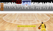 Addition basketball game