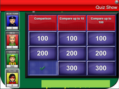 Comparisons show quiz game