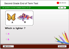 2nd Grade Math End of Level Test