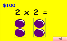 2nd grade multiplication and division millionaire Jeopardy PPT game