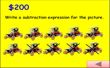 2nd grade subtraction millionaire Jeopardy PPT game