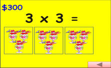 3rd grade multiplication PowerPoint game - millionaire jeopardy PPT classroom game