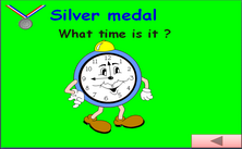 6th grade telling the time PPT game - Olympic jeopardy PowerPoint math classroom game