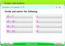 Division skill builders