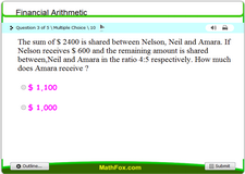 Financial arithmetic